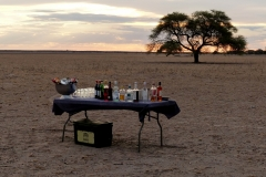 Sundowner-Kalahari
